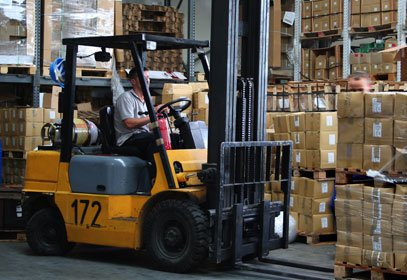 Warehouse Traffic Control to Improve Forklift Safety